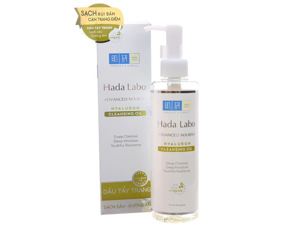 Dầu tẩy trang Hada Labo sạch sâu dưỡng ẩm 200ml 1