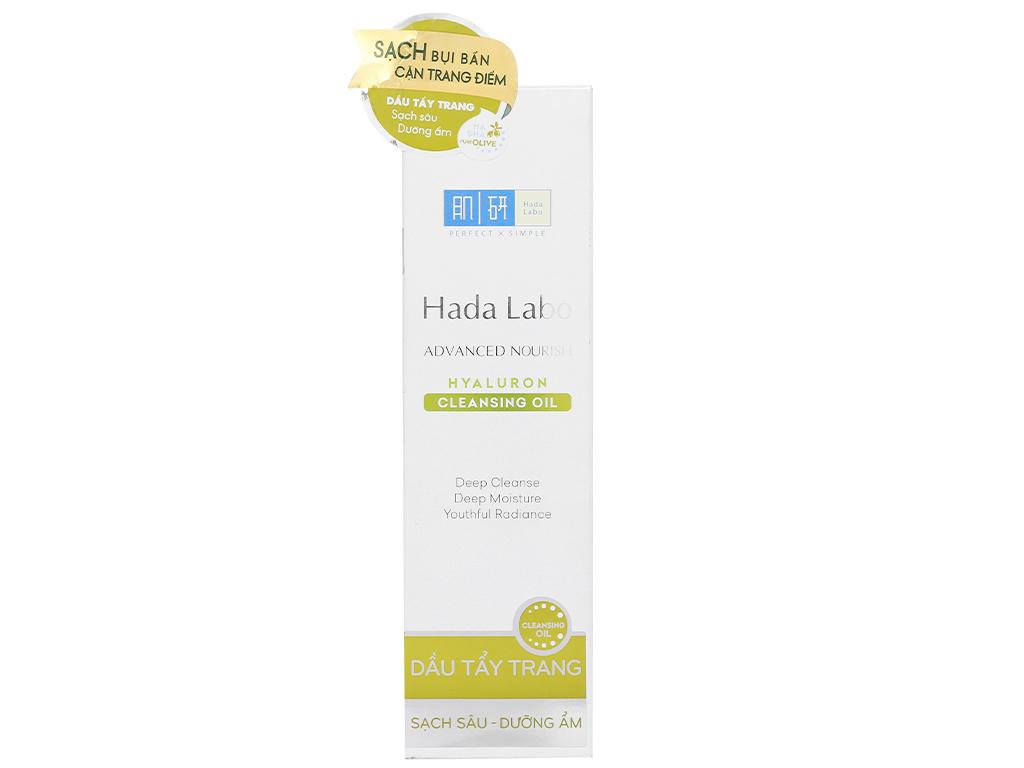Dầu tẩy trang sạch sâu dưỡng ẩm Hada Labo 200ml 10