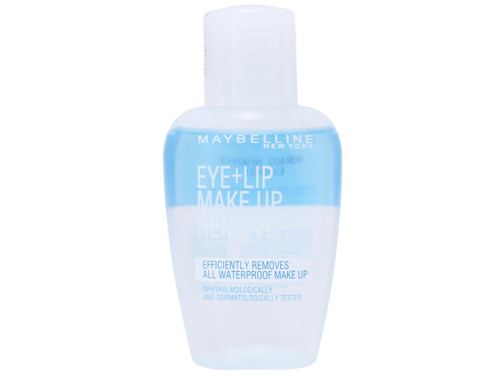 Nước tẩy trang mắt và môi Maybelline 40ml 1