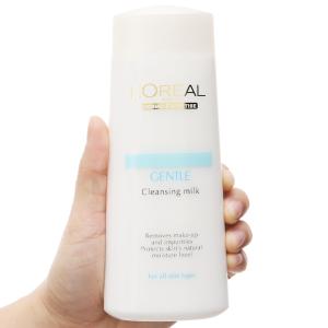 Sữa tẩy trang L'Oréal giữ ẩm, trắng da 200ml