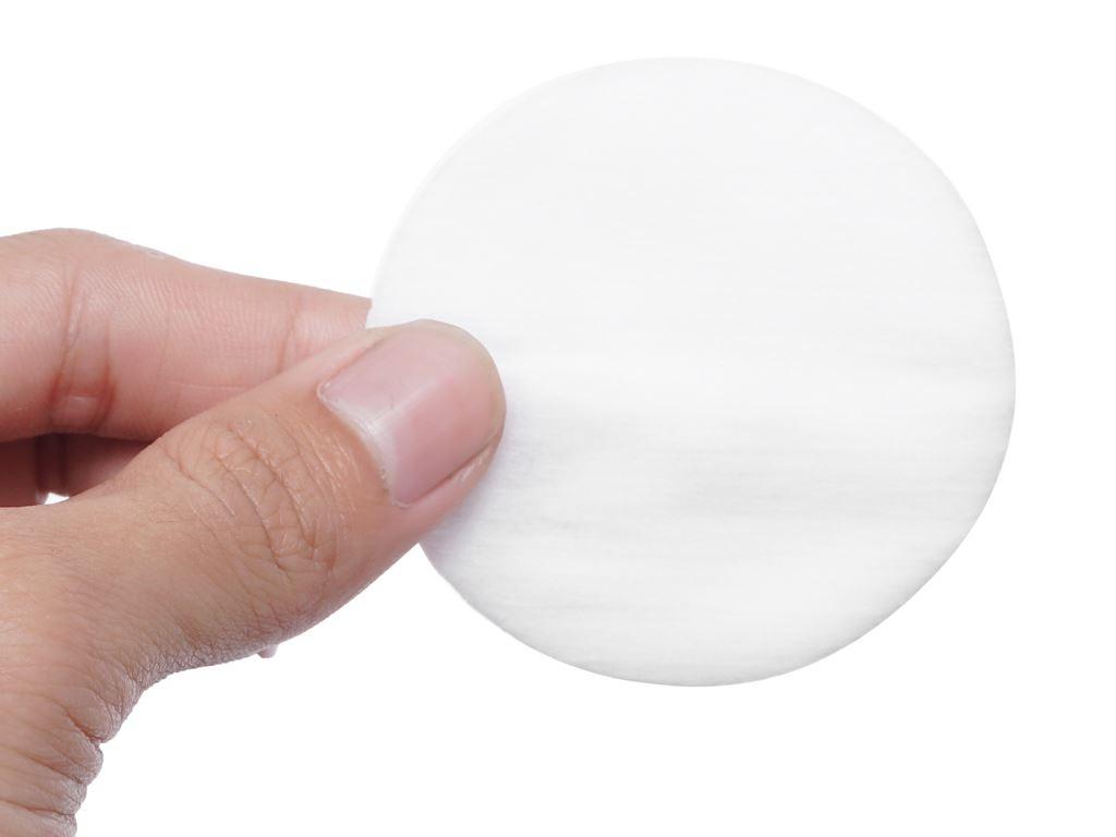 Bông trang điểm Puffme tròn túi 80 miếng 5