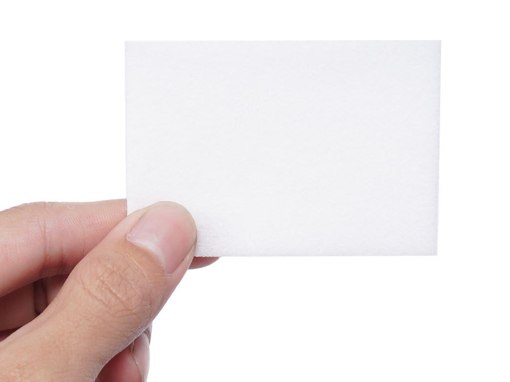 Bông trang điểm Puffme dưỡng da chuyên dụng hộp 180 miếng 5