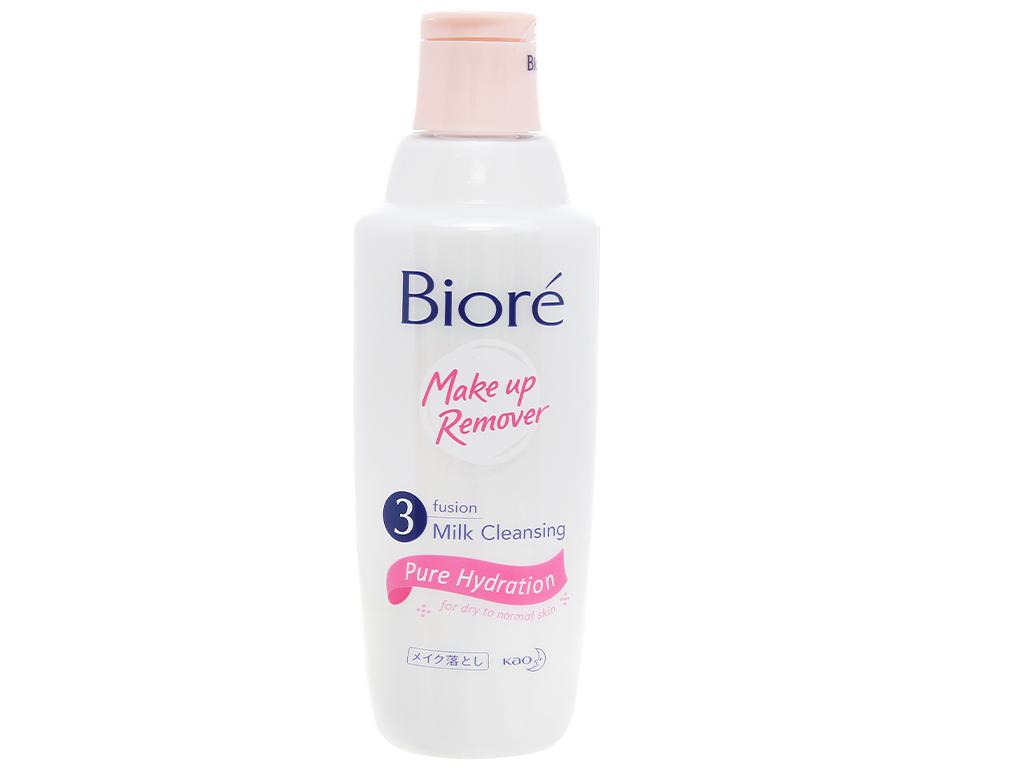 Sữa tẩy trang Bioré 3 lớp sạch sâu dưỡng ẩm 300ml 1