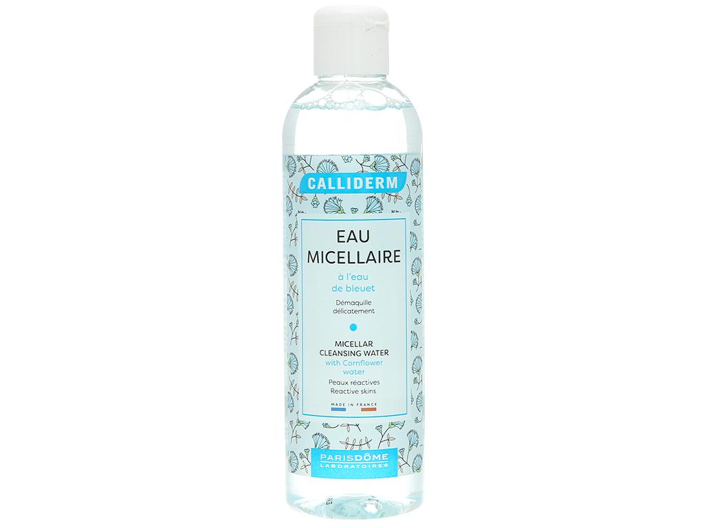 Nước tẩy trang 3 in 1 Calliderm Micellar chiết xuất hoa bleuet 250ml 1