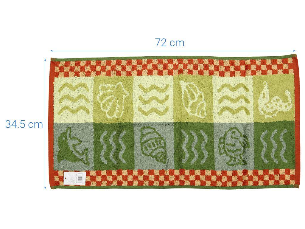 Khăn tắm cỡ vừa Phùng Vy Nam P006 35 x 70cm (giao màu ngẫu nhiên) 8