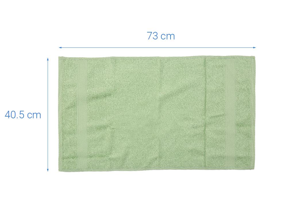 Khăn mặt cotton Mollis FM61 40cm x 75cm (giao màu ngẫu nhiên) 4