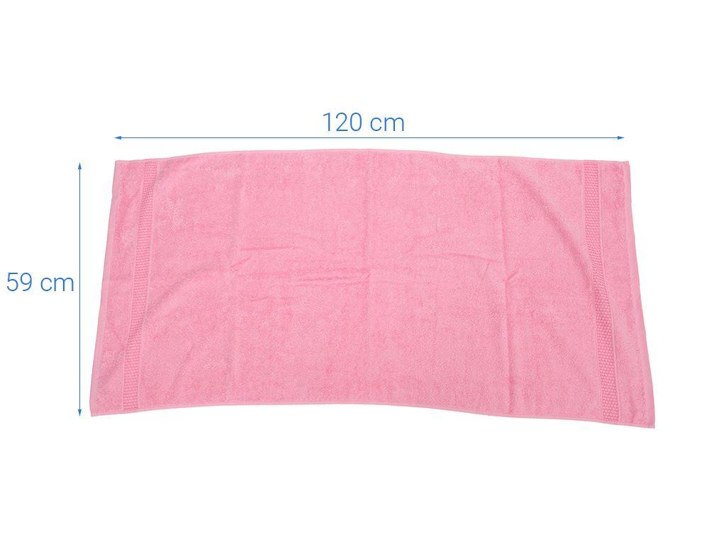 Khăn tắm cotton Mollis B847 60cm x 120cm (giao màu ngẫu nhiên) 4