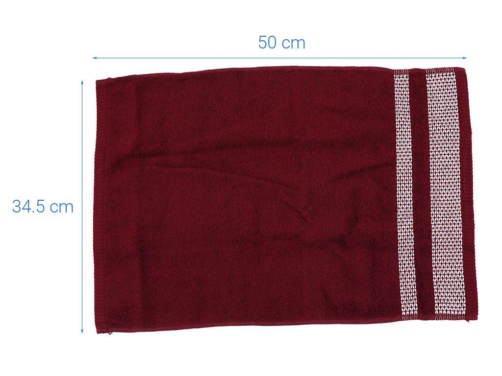 Khăn tay cotton Mollis HM1K 34cm x 50cm (giao màu ngẫu nhiên) 4