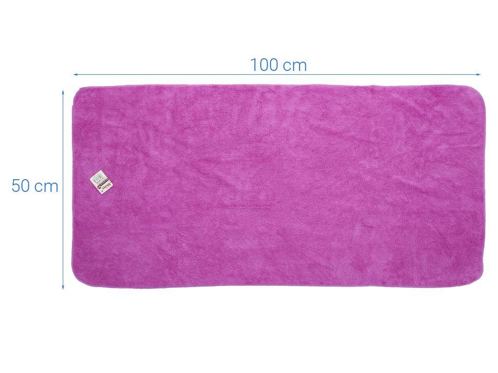 Khăn tắm siêu mềm Shine KL32 50cm x 100cm (giao màu ngẫu nhiên) 3