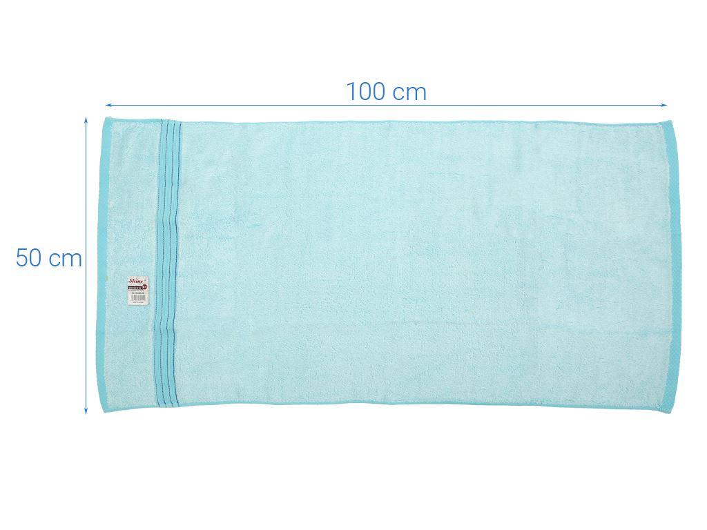 Khăn tắm tre Shine KL12 50cm x 100cm (giao màu ngẫu nhiên) 4