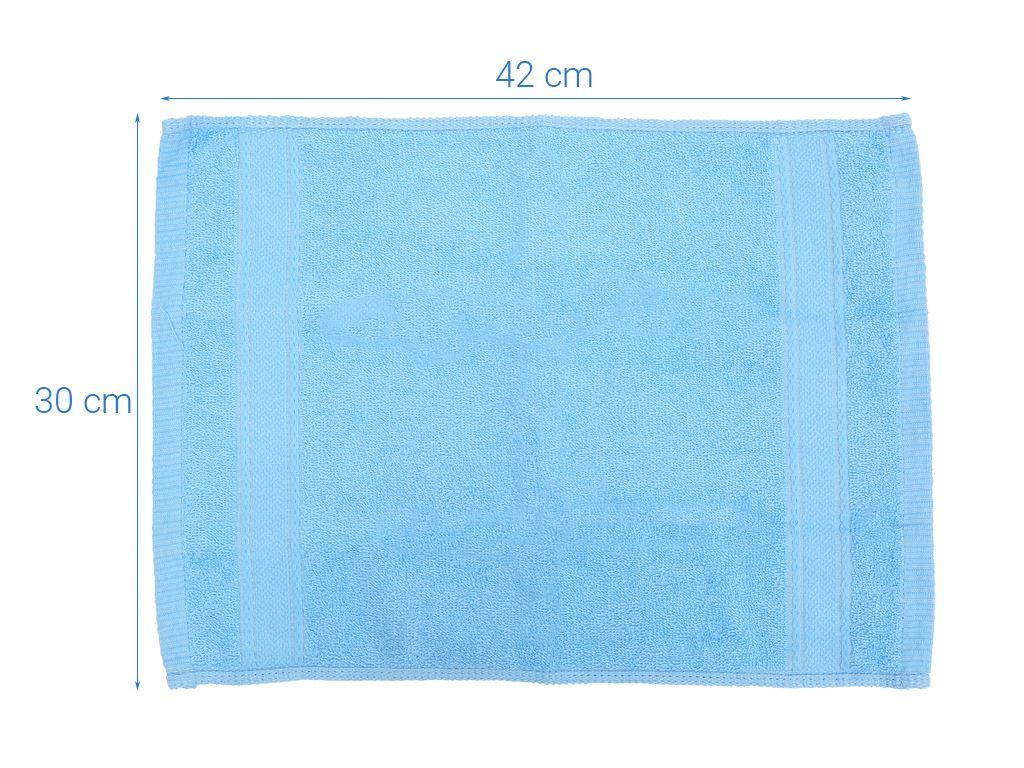Khăn tay cotton Mollis HM50 30cm x 42cm (giao màu ngẫu nhiên) 3