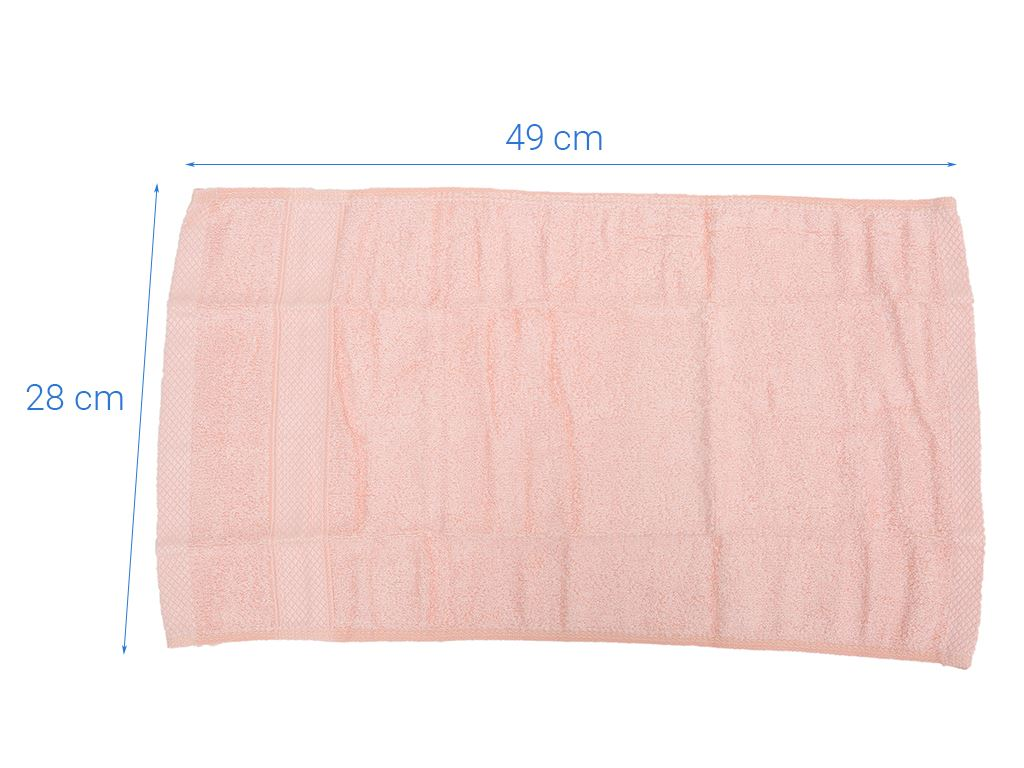 Khăn mặt 100% sợi sơ tre Shine 30x50cm (giao màu ngẫu nhiên) 4