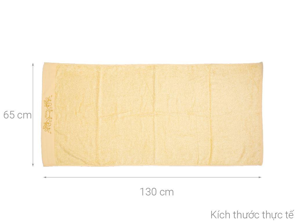 Khăn tắm Mollis BM3C 65cm x 130cm (giao màu ngẫu nhiên) 5