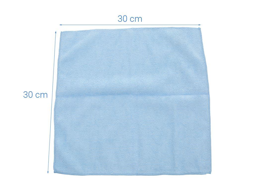 Lốc 3 khăn lau đa năng microfiber Scotch Brite 30 x 30cm 6