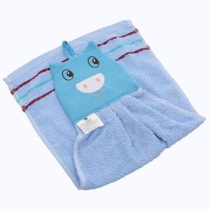 Khăn lau tay cotton có móc treo Latka KH954 29.5 x 52.5cm (giao màu ngẫu nhiên)