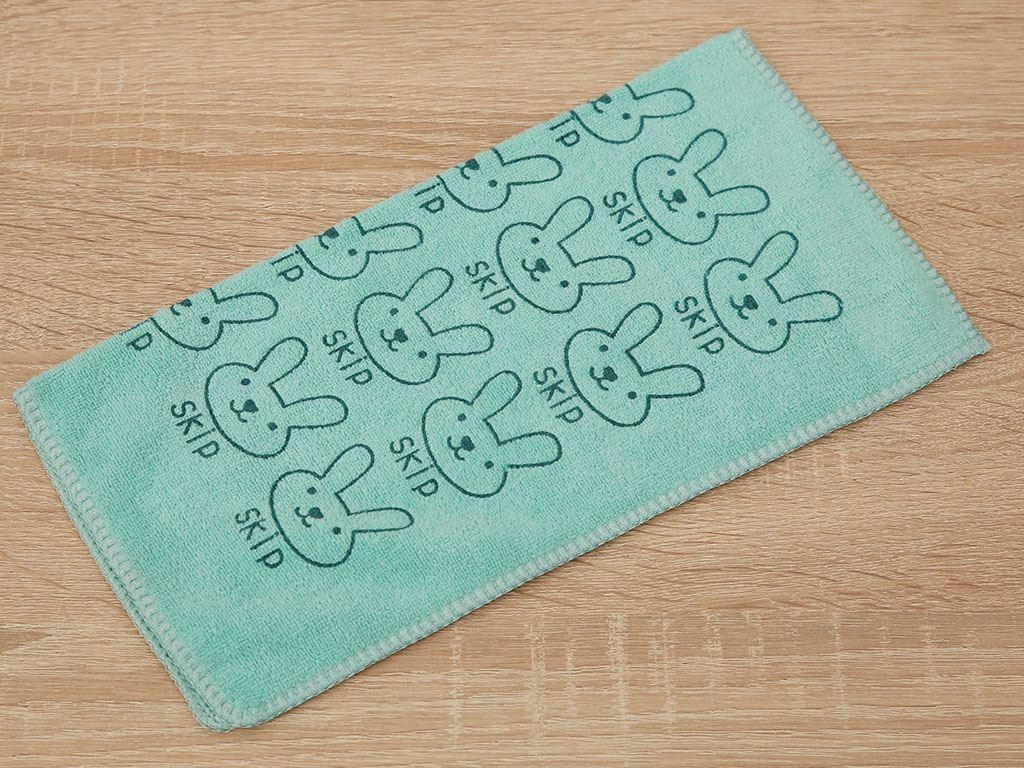 Khăn lau bếp đa năng microfiber Bách hoá XANH CEN5 30 x 30cm màu xanh 2