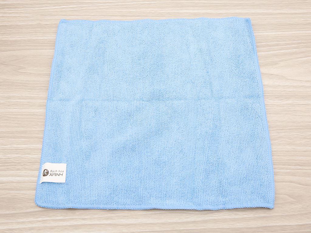 Bộ 3 khăn lau bếp đa năng microfiber Bách hoá XANH 30 x 30cm 2