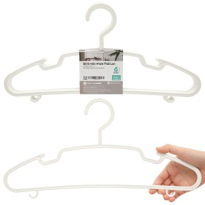 Bộ 6 móc quần áo nhựa Thái Lan Pioneer MA001-6
