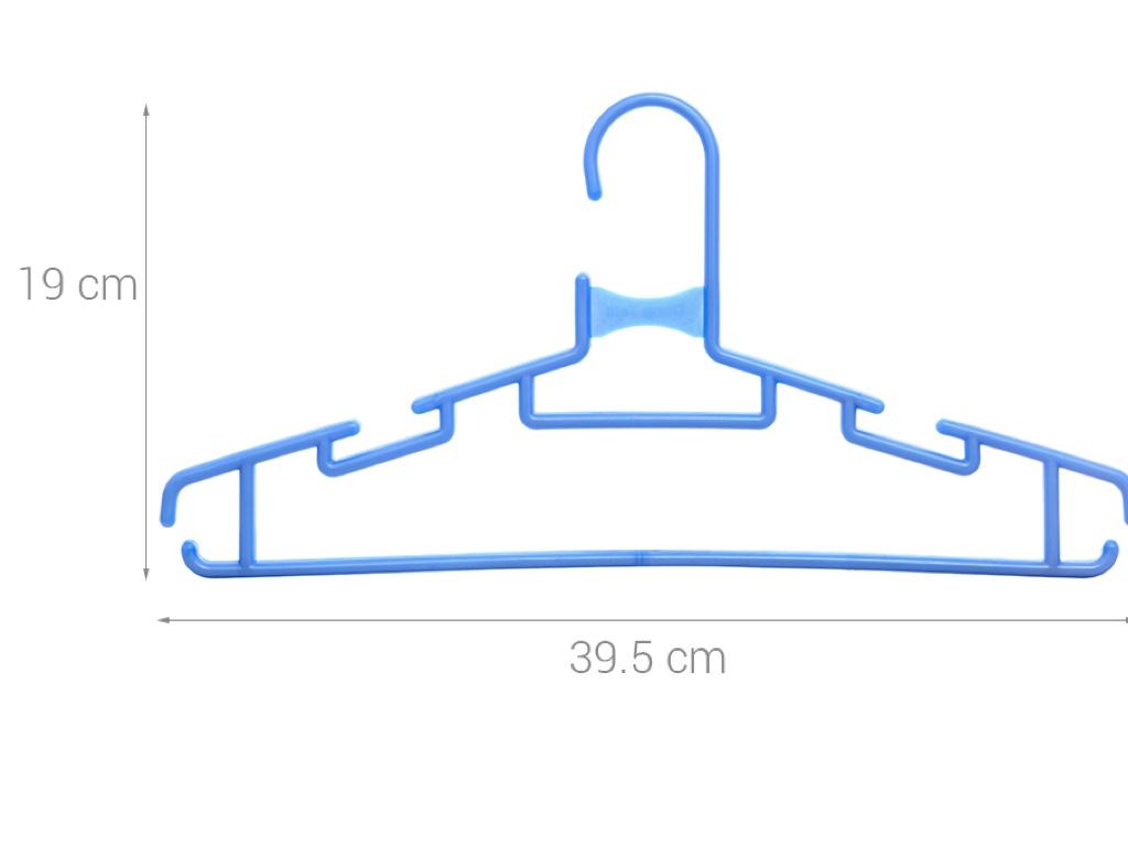 Bộ 6 móc quần áo nhựa Đồng Tâm MA 009 4