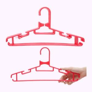 Bộ 6 móc quần áo nhựa Đồng Tâm MA 009 (giao màu ngẫu nhiên)