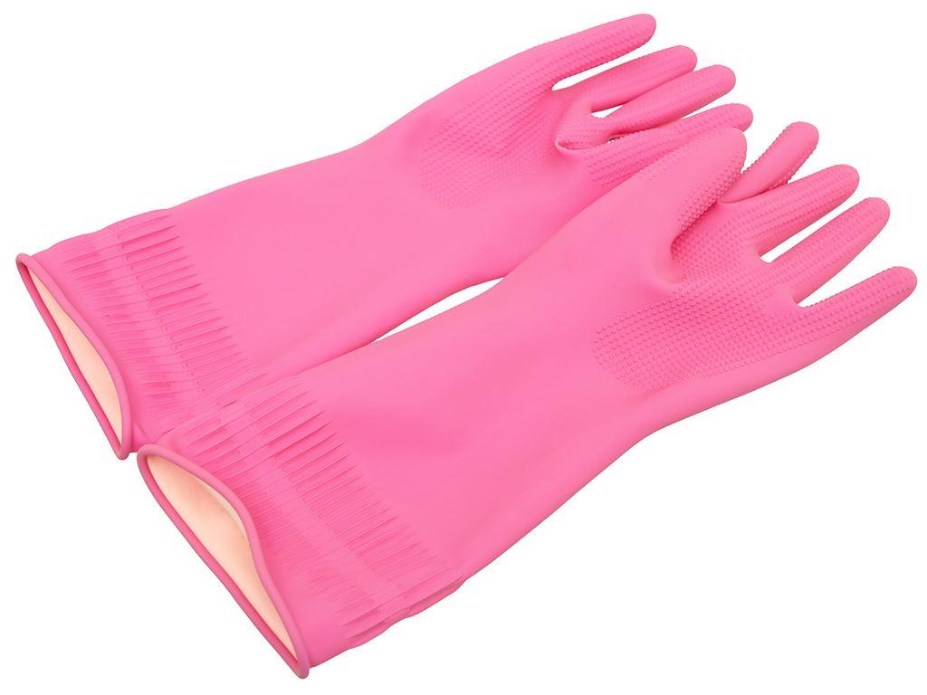 Găng tay cao su Beigl size M 36cm 3