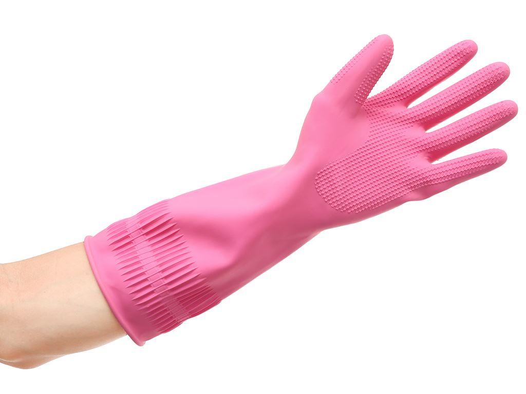 Găng tay cao su Beigl size M 36cm 4