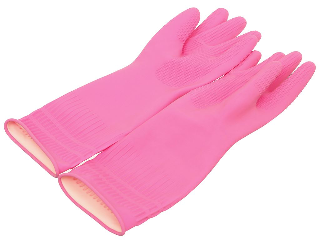 Găng tay cao su Beigl size L 37cm 3