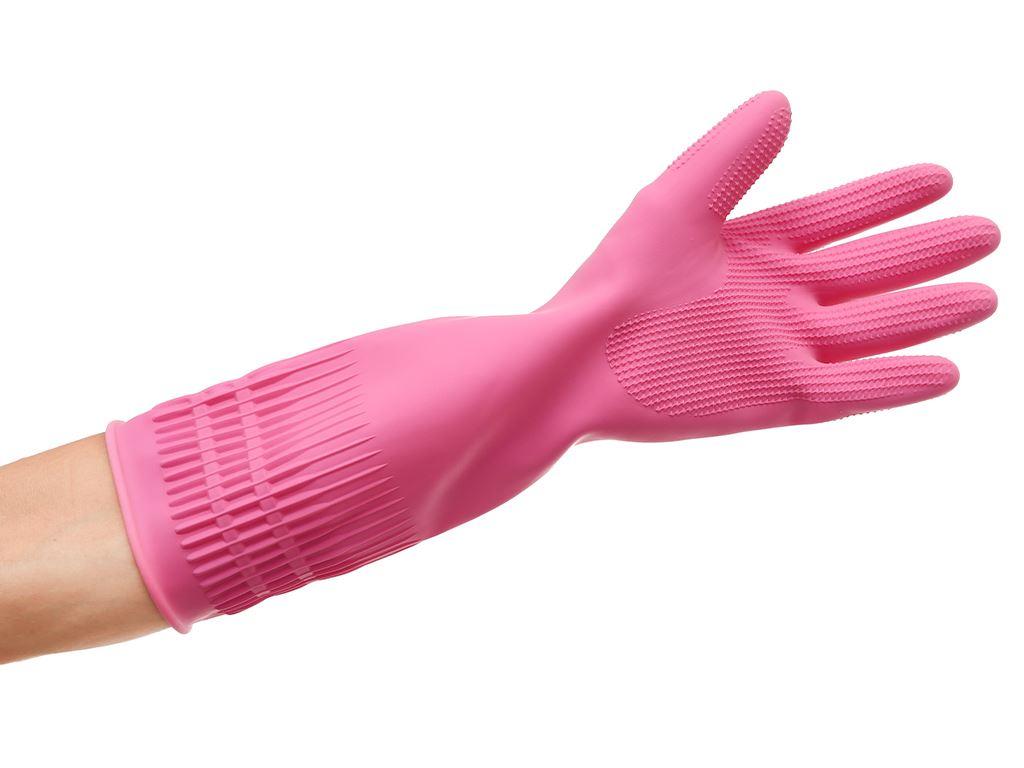 Găng tay cao su Beigl size L 37cm 4