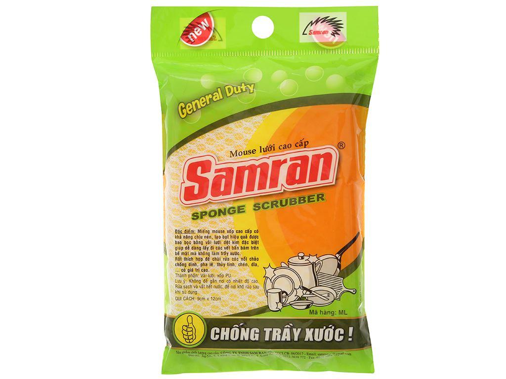 Miếng rửa chén Samran không trầy xước 2