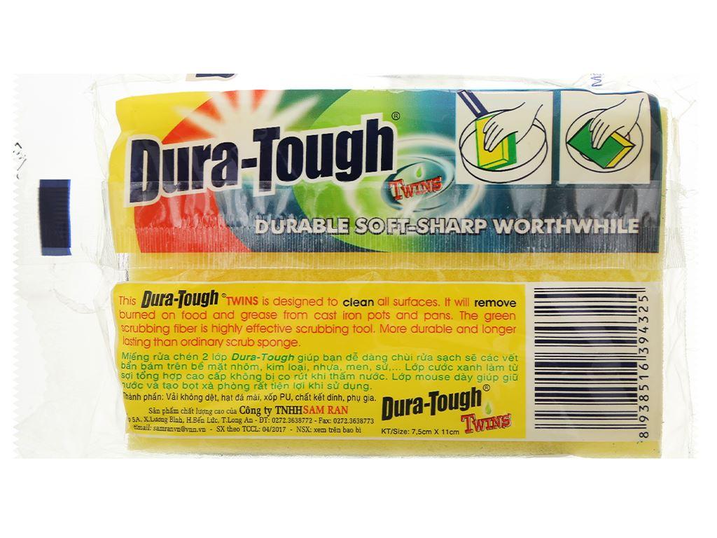 Miếng rửa chén 2 lớp Samran dura-tough 2