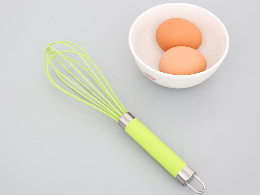 Cây đánh trứng Silicon 25cm Shika SK1705 2