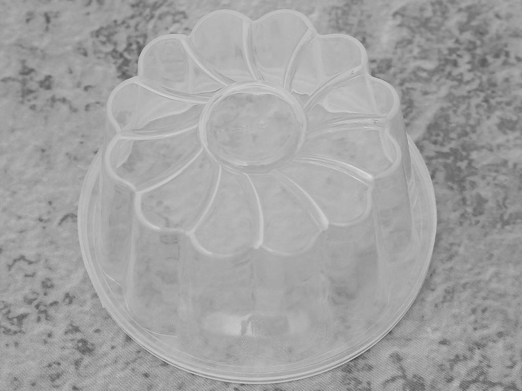 Lốc 10 khuôn rau câu có nắp đậy nhựa Hofaco HPB110 4