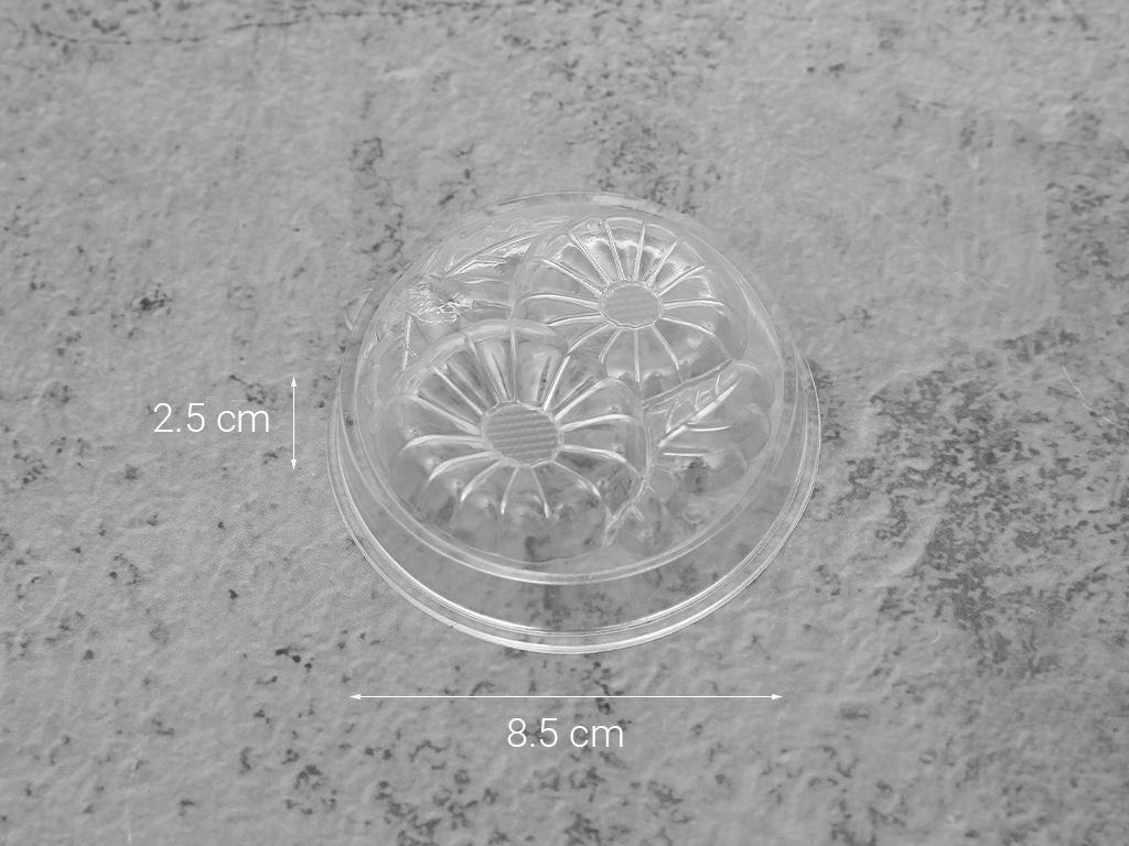 Lốc 6 cái khuôn rau câu nhựa PP Hofaco HPB61 11