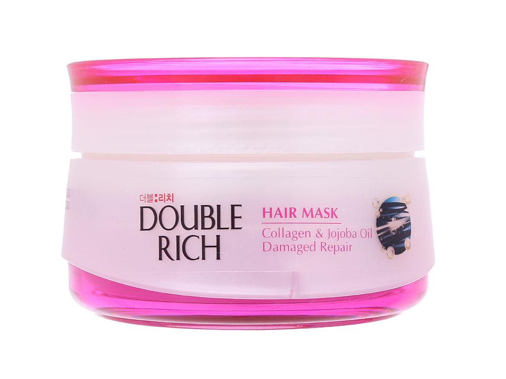 Kem ủ tóc phục hồi tư tổn Double Rich 150g 2
