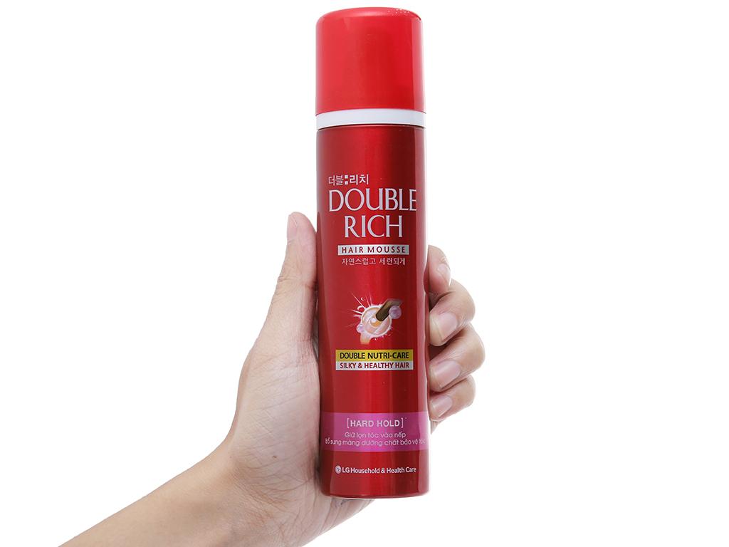 Mousse dưỡng tóc Double Rich 150ml 4
