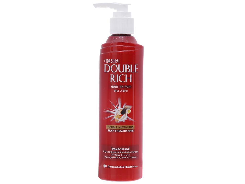 Kem dưỡng tóc Double Rich phục hồi hư tổn do uốn nhuộm 250ml 2