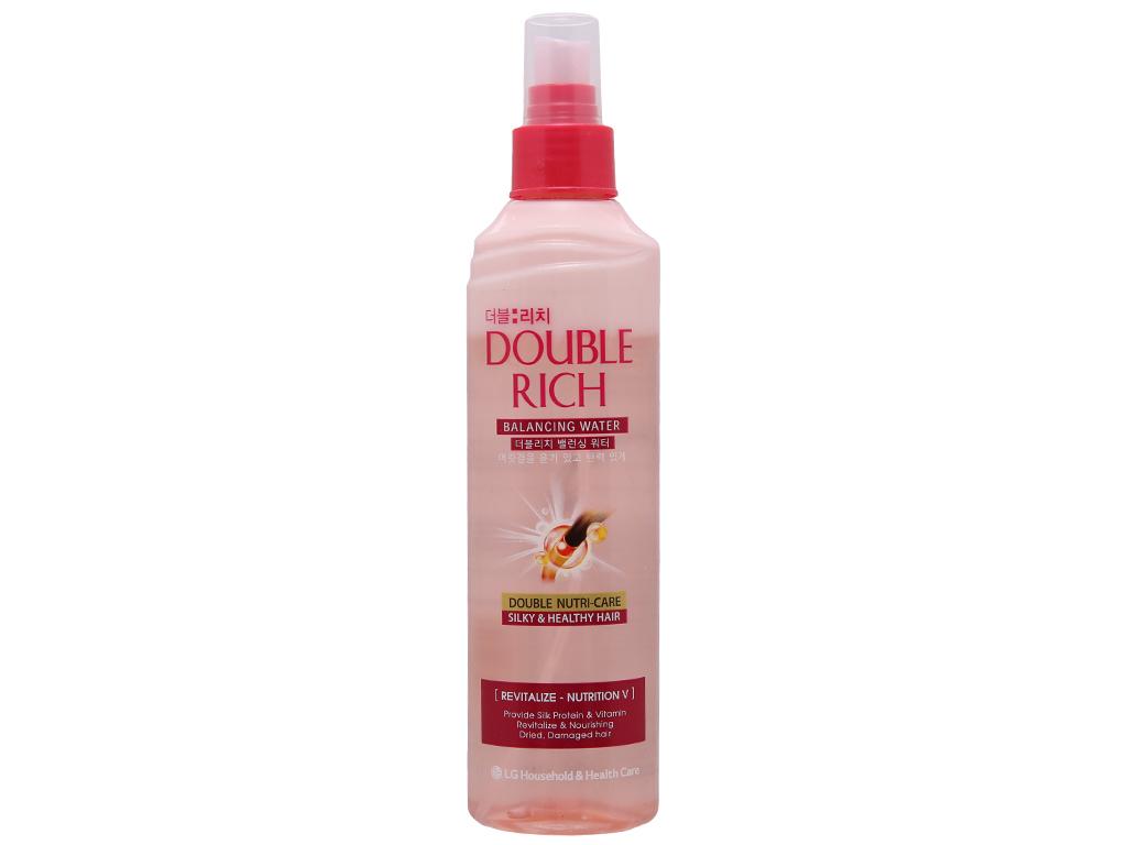 Xịt dưỡng tóc Double Rich chăm sóc tóc hư tổn 250ml 2