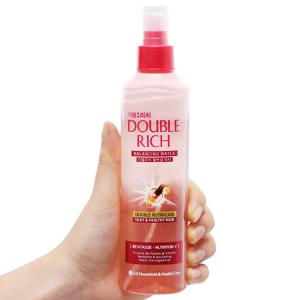 Xịt dưỡng tóc Double Rich chăm sóc tóc hư tổn 250ml