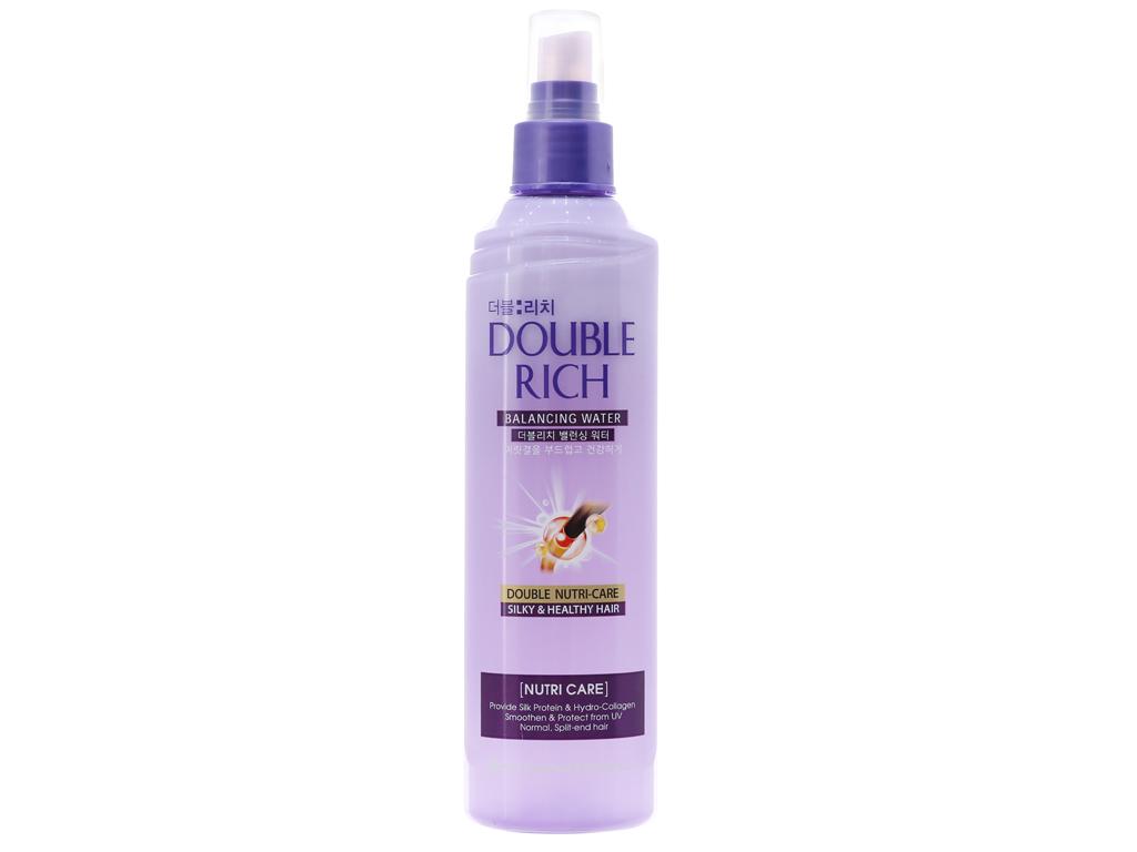 Xịt dưỡng tóc Double Rich dưỡng tóc mềm mượt 250ml 2