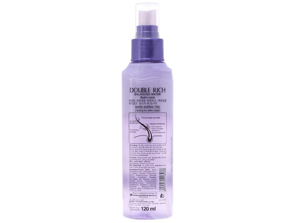 Nước dưỡng tóc Double Rich dưỡng tóc mềm mượt 120ml 3
