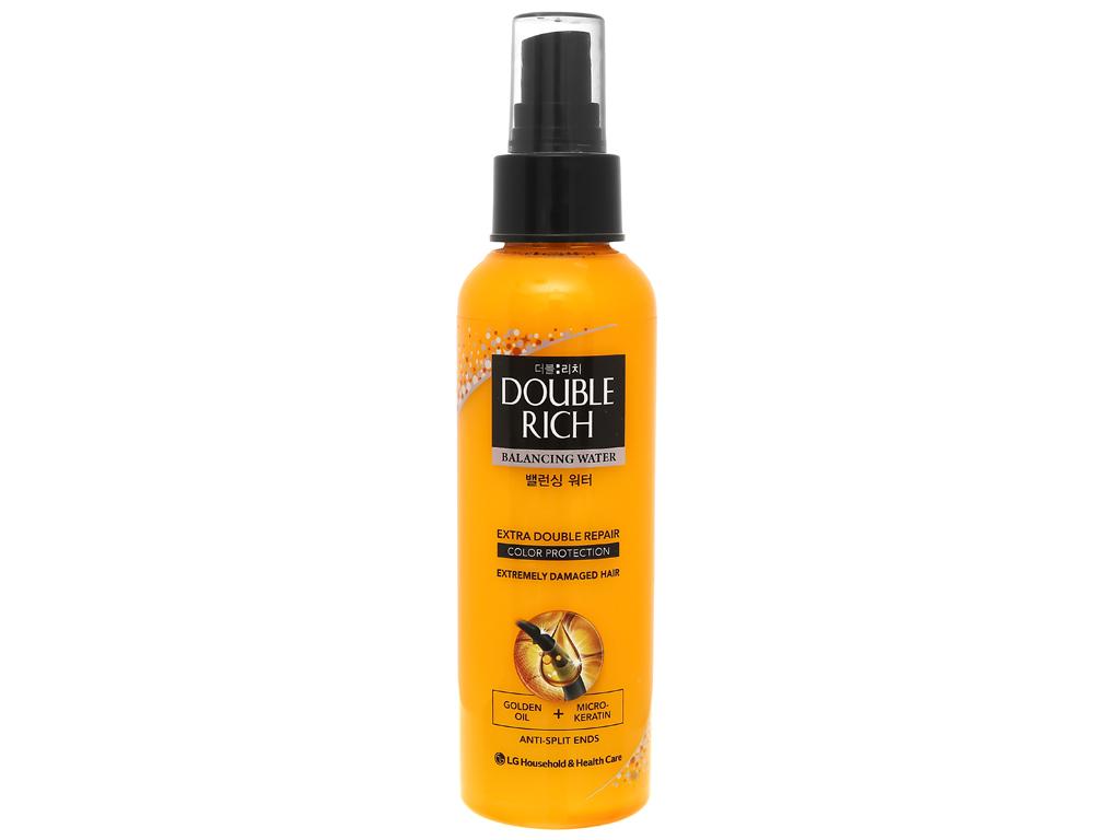 Xịt dưỡng tóc Double Rich dưỡng tóc mềm mượt 120ml 1