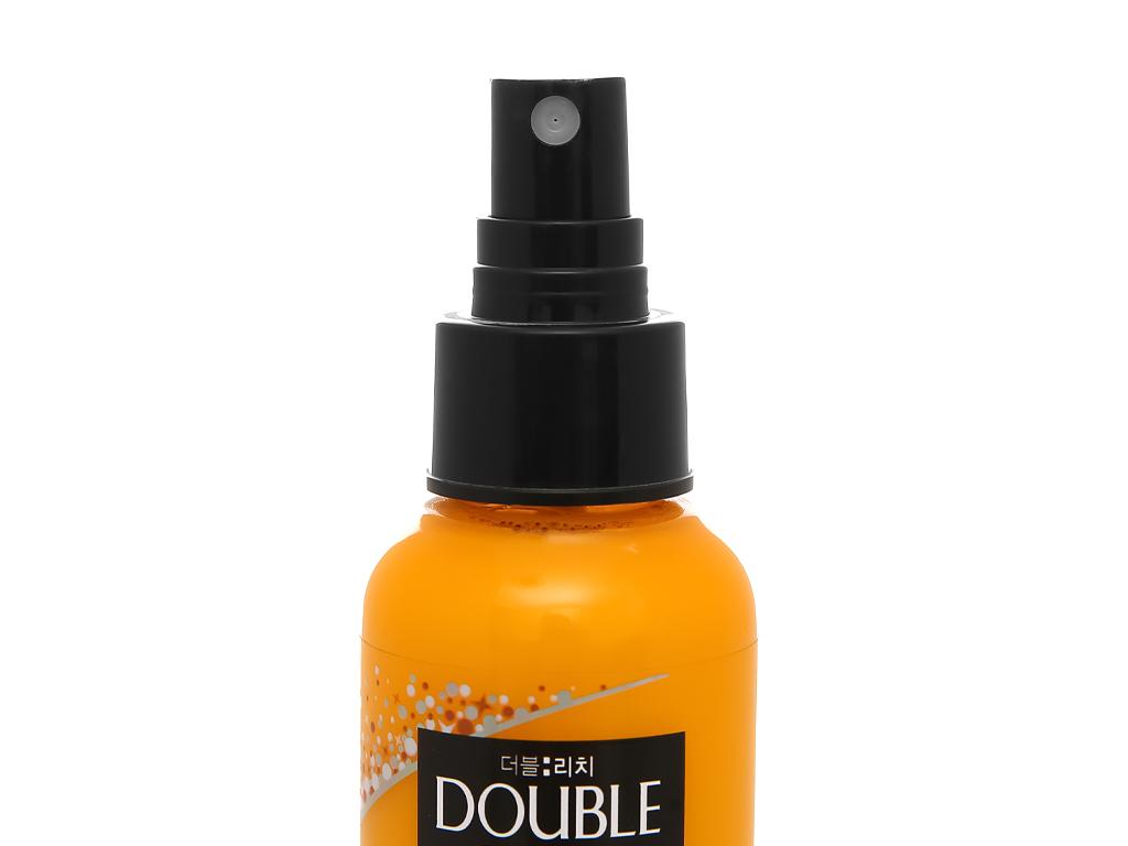 Xịt dưỡng tóc Double Rich dưỡng tóc mềm mượt 120ml 3