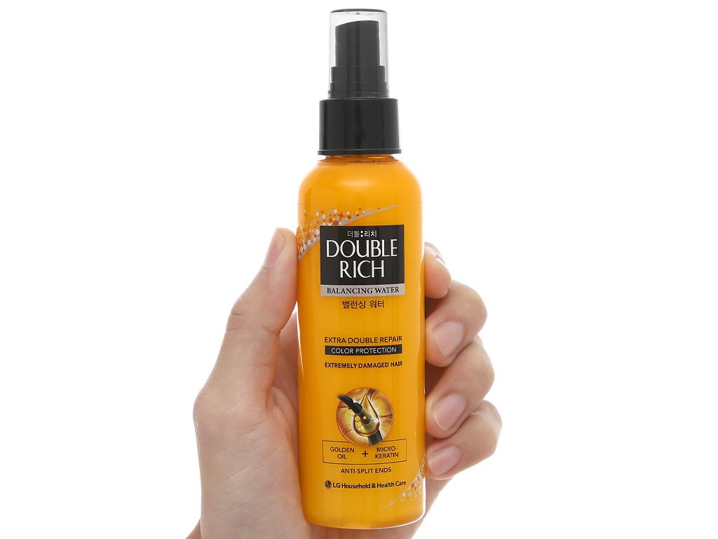 Xịt dưỡng tóc Double Rich dưỡng tóc mềm mượt 120ml 5