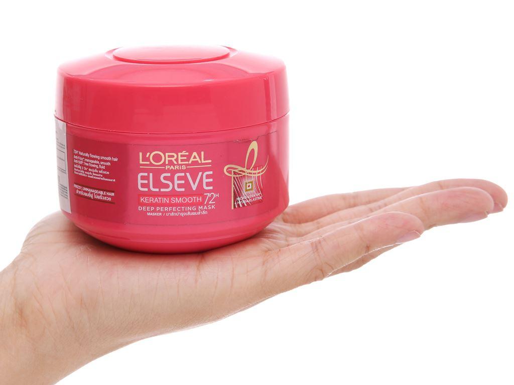 Kem ủ tóc L'Oréal suôn mượt 72h 200ml 4