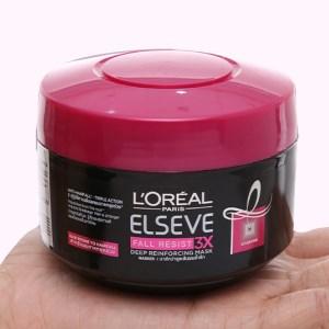 Kem ủ tóc L'Oréal Elseve Fall Resist 3X ngăn gãy rụng tóc 200ml
