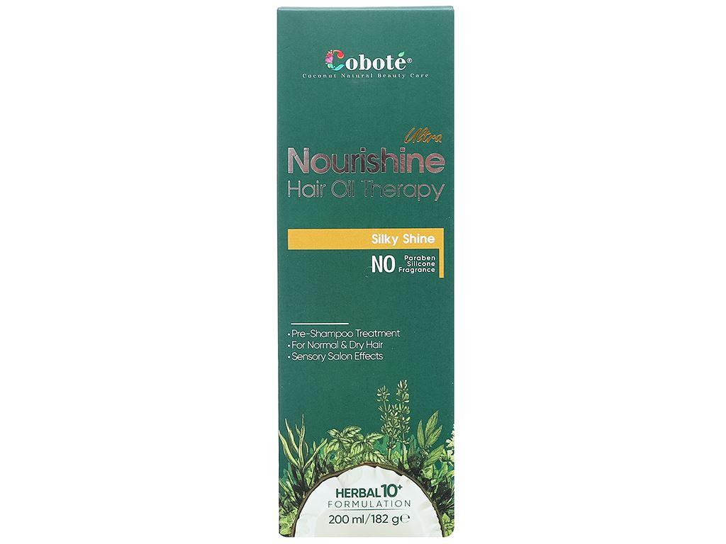 Dầu ủ tóc Coboté dưỡng tóc mềm mượt 200ml 4