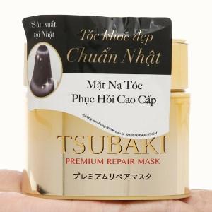 Mặt nạ tóc cao cấp Tsubaki phục hồi hư tổn 150g