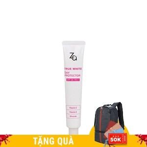 Kem lót chống nắng dưỡng trắng da Za True White Day Protector SPF26 PA++ 35ml