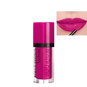 Son kem mềm mịn Bourjois Rouge Edition Velvet 06 màu hồng tím 7.7ml