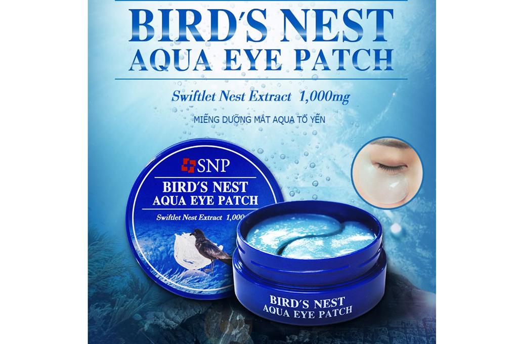 SNP Bird's Nest Aqua Eye Patch - Mặt nạ chống nhăn vùng mắt